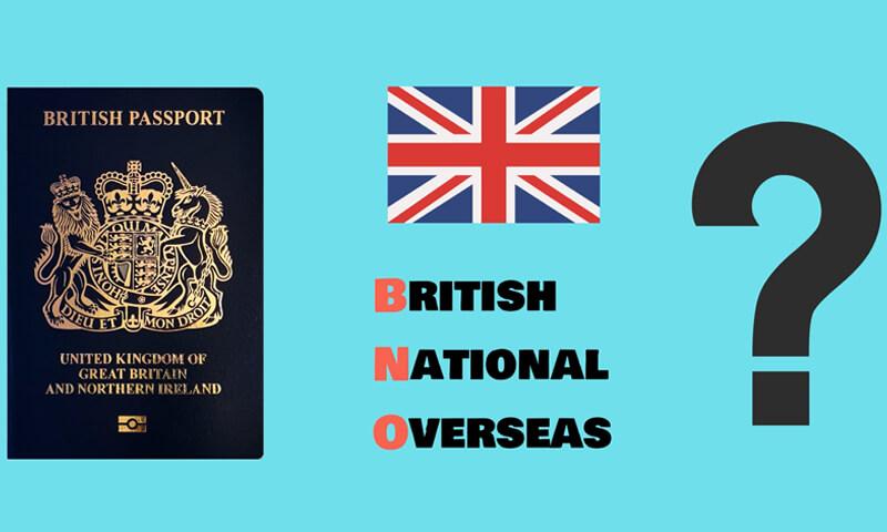 British National Overseas BNO